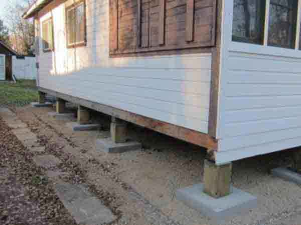 Cottage Lifting & levelling